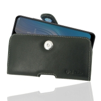 Leather Horizontal Pouch Case with Belt Clip for HTC Wildfire X