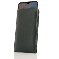 Leather Vertical Pouch Case for HTC Wildfire X