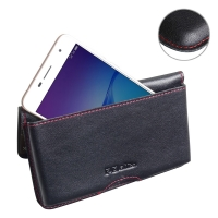 10% OFF + FREE SHIPPING, Buy Best PDair Quality Handmade Protective Huawei Enjoy 6 Genuine Leather Wallet Pouch Case (Red Stitch) online. You also can go to the customizer to create your own stylish leather case if looking for additional colors, patterns