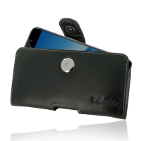 Leather Horizontal Pouch Case with Belt Clip for Huawei Enjoy 7