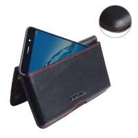10% OFF + FREE SHIPPING, Buy Best PDair Handmade Protective Huawei Enjoy 7 Plus Leather Wallet Pouch Case (Red Stitch). Pouch Sleeve Holster Wallet  You also can go to the customizer to create your own stylish leather case if looking for additional colors