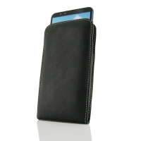 Leather Vertical Pouch Case for Huawei Enjoy 8 Plus