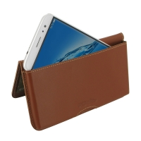 10% OFF + FREE SHIPPING, Buy Best PDair Quality Handmade Protective Huawei G9 Plus Genuine Leather Wallet Pouch Case (Brown) online. You also can go to the customizer to create your own stylish leather case if looking for additional colors, patterns and t