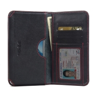 10% OFF + FREE SHIPPING, Buy Best PDair Quality Handmade Protective Huawei G9 Plus Genuine Leather Wallet Sleeve Case (Red Stitch) online. You also can go to the customizer to create your own stylish leather case if looking for additional colors, patterns