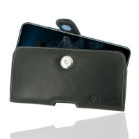 Leather Horizontal Pouch Case with Belt Clip for Huawei Honor 20