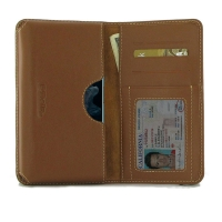 Leather Card Wallet for Huawei Honor 20 (Brown)