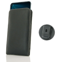 Leather Vertical Pouch Belt Clip Case for Huawei Honor 20