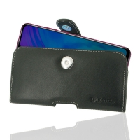 Leather Horizontal Pouch Case with Belt Clip for Huawei Honor 20i