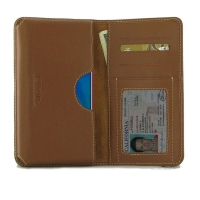 Leather Card Wallet for Huawei Honor 20i (Brown)
