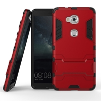 Huawei Honor 5X Tough Armor Protective Case (Red) :: PDair