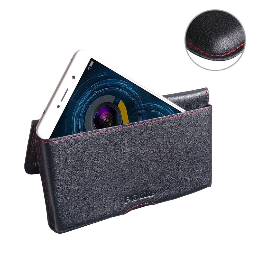 10% OFF + FREE SHIPPING, Buy Best PDair Quality Handmade Protective Huawei Honor 6X Genuine Leather Wallet Pouch Case (Red Stitch) online. You also can go to the customizer to create your own stylish leather case if looking for additional colors, patterns