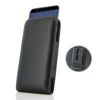 Leather Vertical Pouch Belt Clip Case for Huawei Honor 9 Lite | Honor 9 Youth
