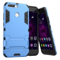 Huawei Honor V9 Tough Armor Protective Case (Blue)