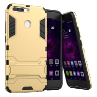 Huawei Honor V9 Tough Armor Protective Case (Gold)