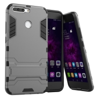 Huawei Honor V9 Tough Armor Protective Case (Grey)
