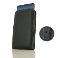 Leather Vertical Pouch Belt Clip Case for Huawei Mate 10