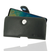 Leather Horizontal Pouch Case with Belt Clip for Huawei Mate 20