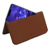10% OFF + FREE SHIPPING, Buy the BEST PDair Handcrafted Premium Protective Carrying Huawei Mate 20 Lite Leather Wallet Pouch Case (Brown). Exquisitely designed engineered for Huawei Mate 20 Lite.