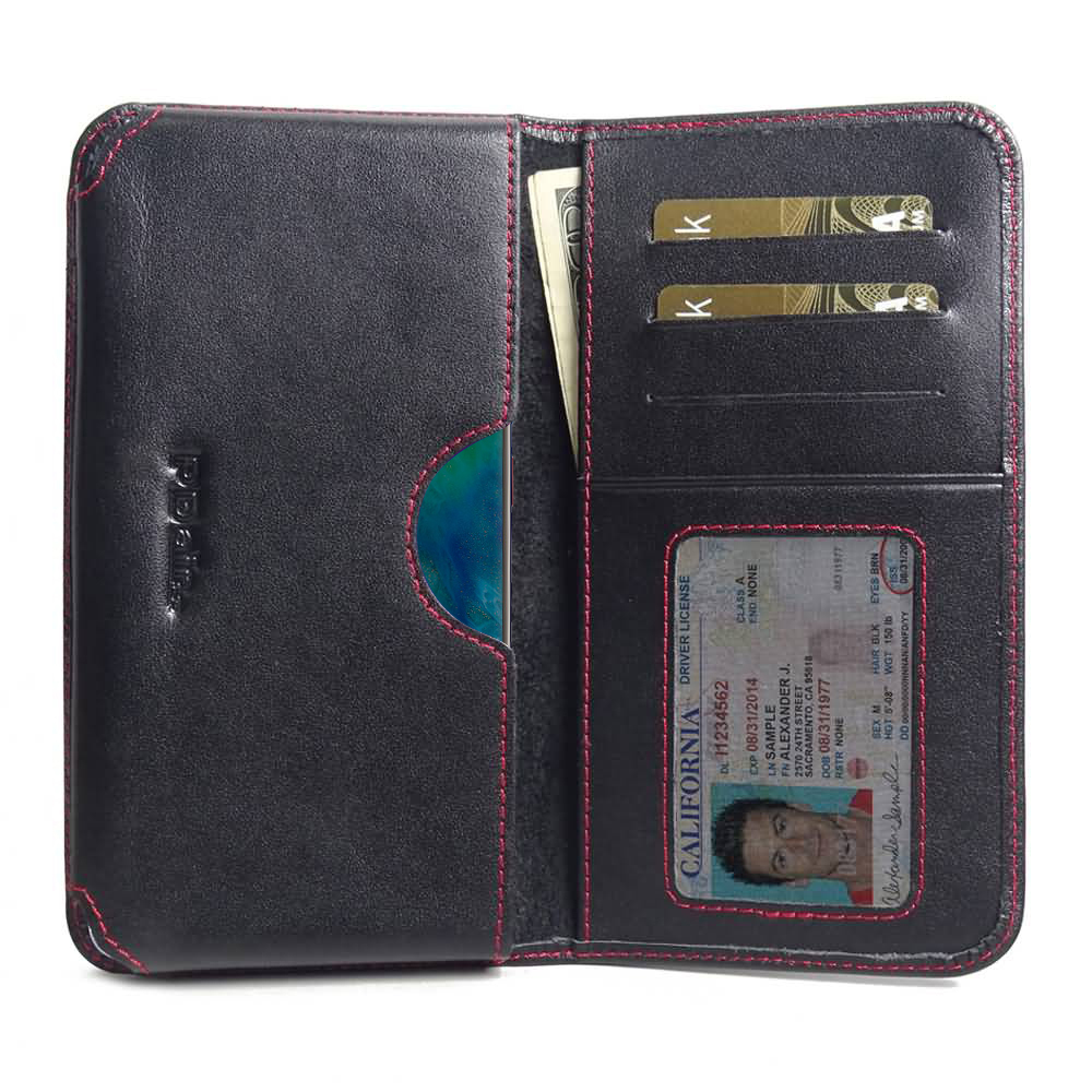 10% OFF + FREE SHIPPING, Buy the BEST PDair Handcrafted Premium Protective Carrying Huawei Mate 20 Pro Leather Wallet Sleeve Case (Red Stitch). Exquisitely designed engineered for Huawei Mate 20 Pro.