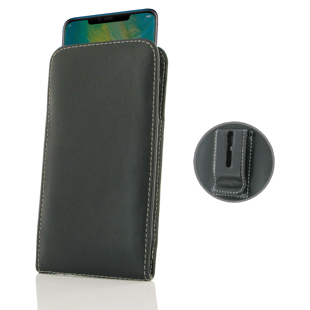 10% OFF + FREE SHIPPING, Buy the BEST PDair Handcrafted Premium Protective Carrying Huawei Mate 20 Pro Pouch Case with Belt Clip. Exquisitely designed engineered for Huawei Mate 20 Pro.