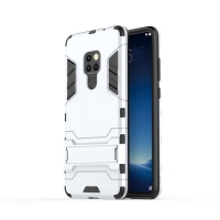 Huawei Mate 20 Tough Armor Protective Case (Silver)