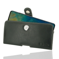 Leather Horizontal Pouch Case with Belt Clip for Huawei Mate 20 X