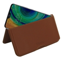 10% OFF + FREE SHIPPING, Buy the BEST PDair Handcrafted Premium Protective Carrying Huawei Mate 30 Leather Wallet Pouch Case (Brown). Exquisitely designed engineered for Huawei Mate 30.