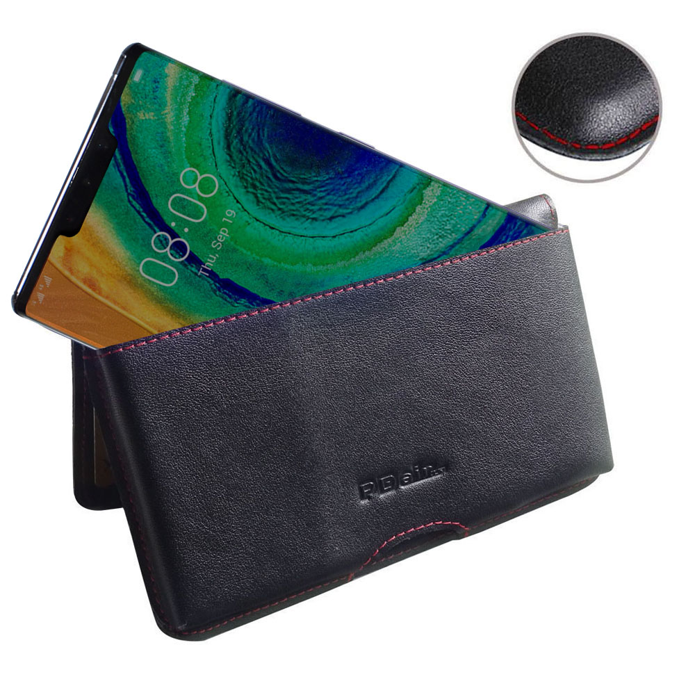 10% OFF + FREE SHIPPING, Buy the BEST PDair Handcrafted Premium Protective Carrying Huawei Mate 30 Pro 5G Leather Wallet Pouch Case (Red Stitch). Exquisitely designed engineered for Huawei Mate 30 Pro 5G.