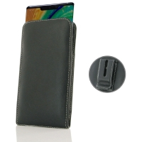 Leather Vertical Pouch Belt Clip Case for Huawei Mate 30 Pro 5G