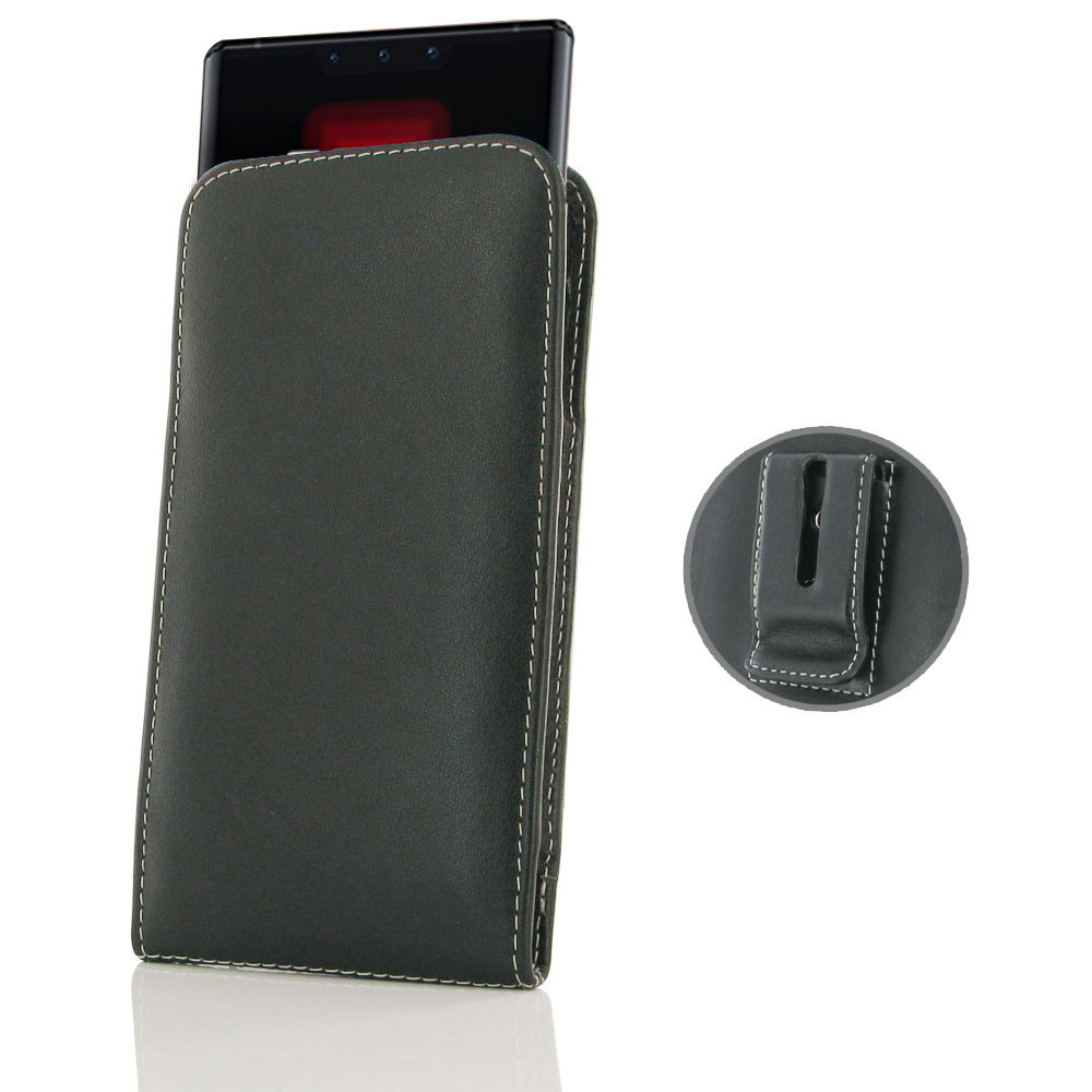 10% OFF + FREE SHIPPING, Buy the BEST PDair Handcrafted Premium Protective Carrying Huawei Mate 30 RS Porsche Design Pouch Case with Belt Clip. Exquisitely designed engineered for Huawei Mate 30 RS Porsche Design.
