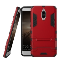 Huawei Mate 9 Pro Tough Armor Protective Case (Red)