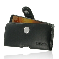 Leather Horizontal Pouch Case with Belt Clip for Huawei nova 2s