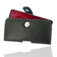 Leather Horizontal Pouch Case with Belt Clip for Huawei nova 4