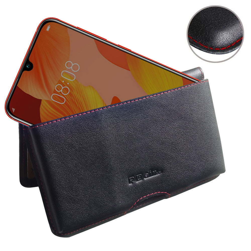 10% OFF + FREE SHIPPING, Buy the BEST PDair Handcrafted Premium Protective Carrying Huawei Nova 5 Pro Leather Wallet Pouch Case (Red Stitch). Exquisitely designed engineered for Huawei Nova 5 Pro.