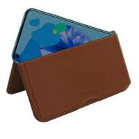 10% OFF + FREE SHIPPING, Buy the BEST PDair Handcrafted Premium Protective Carrying Huawei nova 5i Leather Wallet Pouch Case (Brown). Exquisitely designed engineered for Huawei nova 5i.
