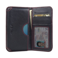 10% OFF + FREE SHIPPING, Buy Best PDair Quality Handmade Protective Huawei Nova Genuine Leather Wallet Sleeve Case (Red Stitch) online. You also can go to the customizer to create your own stylish leather case if looking for additional colors, patterns an
