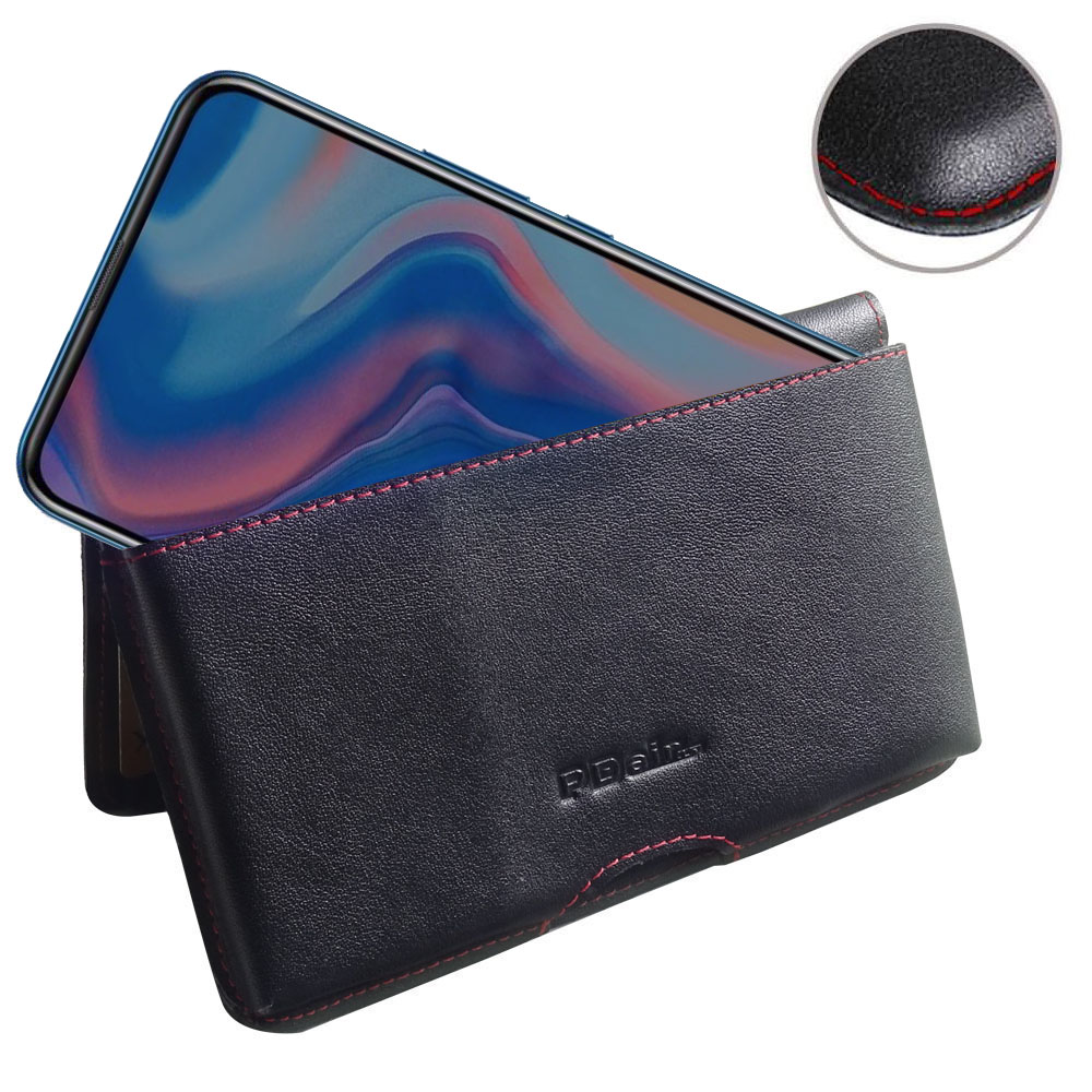 10% OFF + FREE SHIPPING, Buy the BEST PDair Handcrafted Premium Protective Carrying Huawei P Smart Z Leather Wallet Pouch Case (Red Stitch). Exquisitely designed engineered for Huawei P Smart Z.