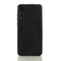 10% OFF + FREE SHIPPING, Buy the BEST PDair Premium Protective Carrying Huawei P20 Pro Soft Case (Black S Shape pattern). Exquisitely designed engineered for Huawei P20 Pro.