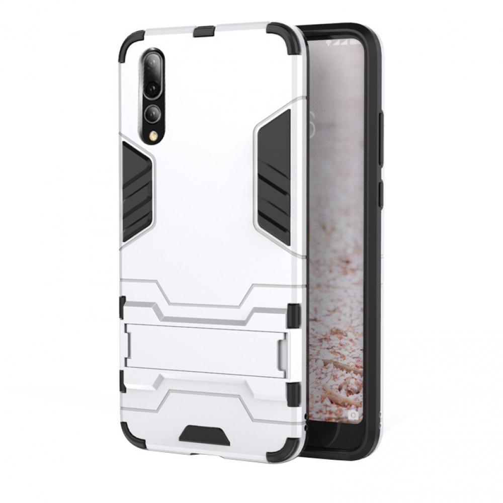 release date fcba9 638b2 Huawei P20 Pro Tough Armor Protective Case (Silver)