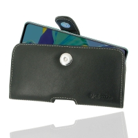 Leather Horizontal Pouch Case with Belt Clip for Huawei P30