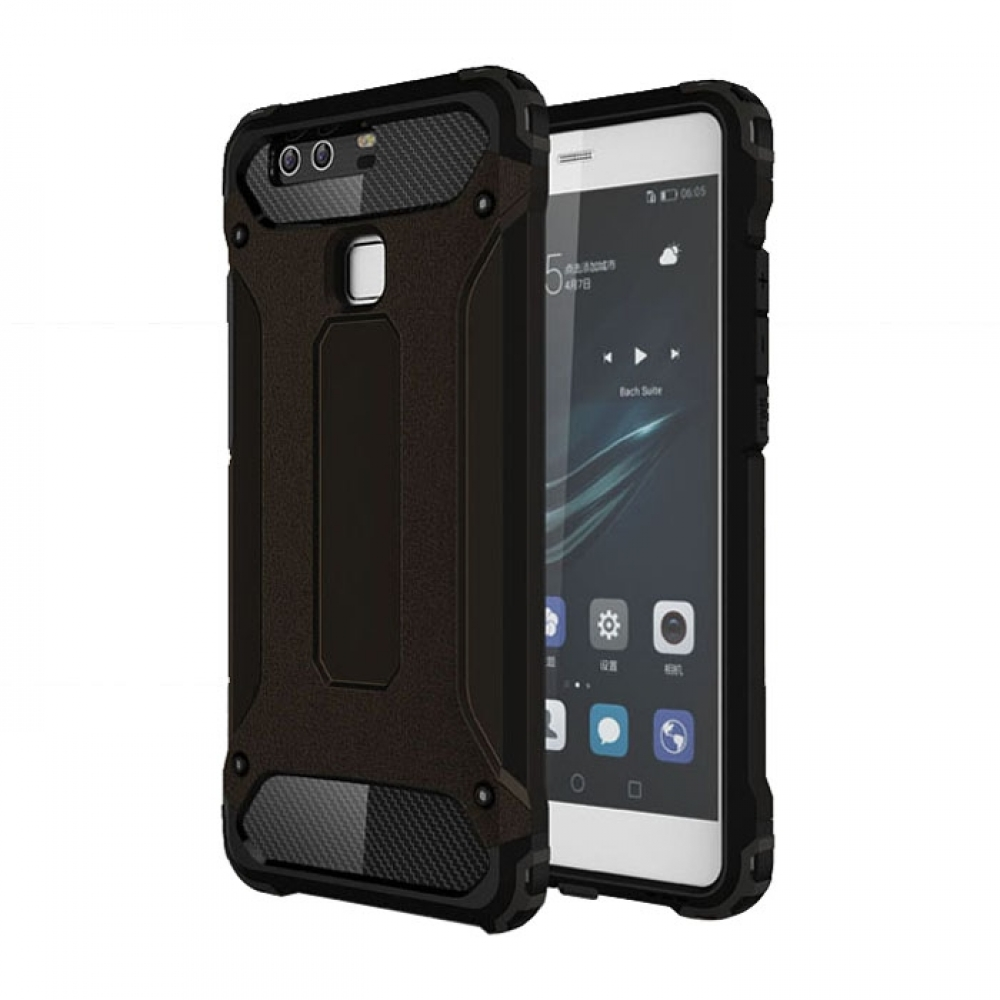 10% OFF + FREE SHIPPING, Buy Best PDair Top Quality Huawei P9 Hybrid Dual Layer Tough Armor Protective Case (Black) online. online. Designed for Huawei P9. You also can go to the customizer to create your own stylish leather case if looking for additional