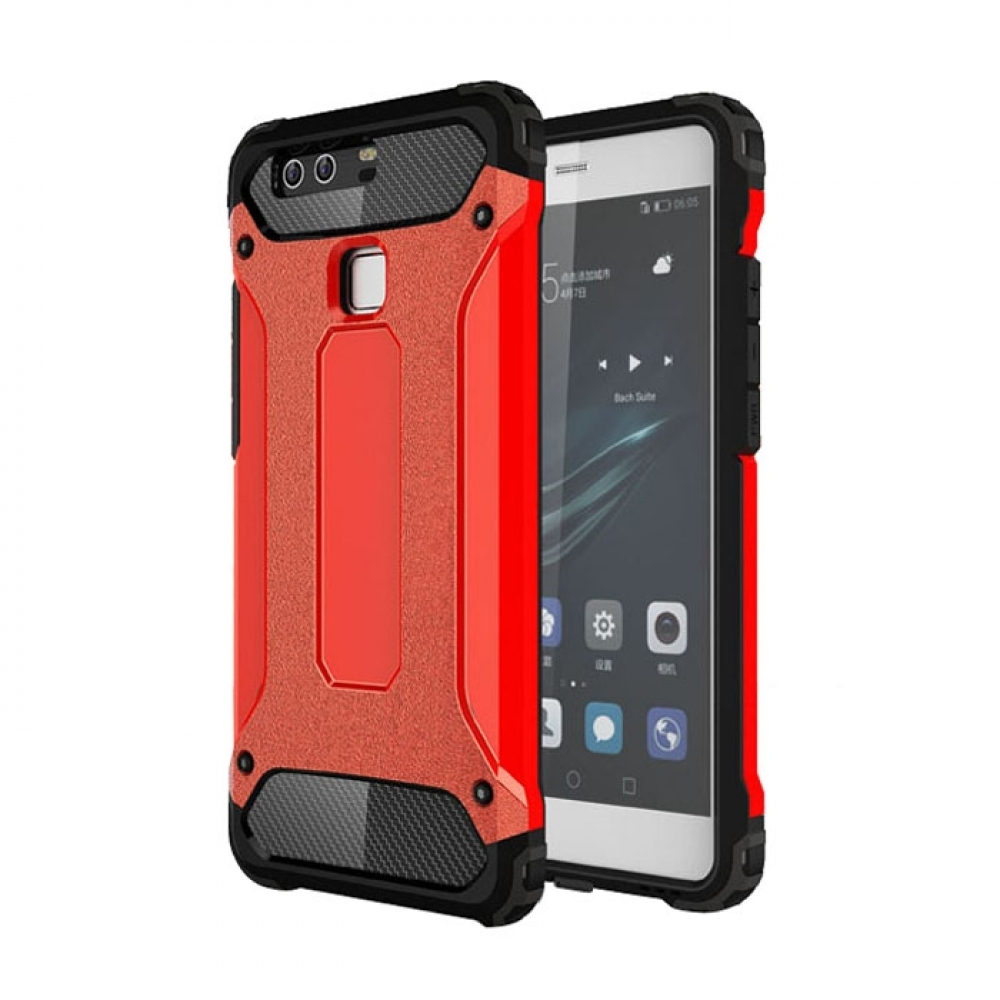 10% OFF + FREE SHIPPING, Buy Best PDair Top Quality Huawei P9 Hybrid Dual Layer Tough Armor Protective Case (Red) online. Designed for Huawei P9. You also can go to the customizer to create your own stylish leather case if looking for additional colors, p