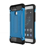10% OFF + FREE SHIPPING, Buy Best PDair Top Quality Huawei P9 Hybrid Dual Layer Tough Armor Protective Case (Skyblue) online. Designed for Huawei P9. You also can go to the customizer to create your own stylish leather case if looking for additional color