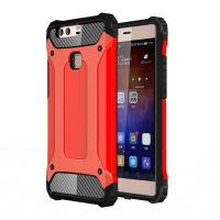 10% OFF + FREE SHIPPING, Buy Best PDair Top Quality Huawei P9 Plus Hybrid Dual Layer Tough Armor Protective Case (Red) online. Designed for Huawei P9 Plus. You also can go to the customizer to create your own stylish leather case if looking for additional