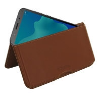 10% OFF + FREE SHIPPING, Buy the BEST PDair Handcrafted Premium Protective Carrying Huawei Y5 lite Leather Wallet Pouch Case (Brown). Exquisitely designed engineered for Huawei Y5 lite.