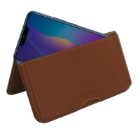 10% OFF + FREE SHIPPING, Buy the BEST PDair Handcrafted Premium Protective Carrying Huawei Y9 Leather Wallet Pouch Case (Brown). Exquisitely designed engineered for Huawei Y9.
