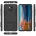 Huawei Mate 20 X Tough Armor Protective Case (Black) protective carrying cover by PDair