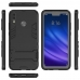 Huawei Enjoy 9 Plus Tough Armor Protective Case (Black) Wide selection of colors and patterns by PDair