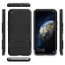 Huawei Honor Magic 2 Tough Armor Protective Case (Black) custom degsined carrying cover by PDair