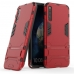 Huawei Honor Magic 2 Tough Armor Protective Case (Red) custom degsined carrying case by PDair